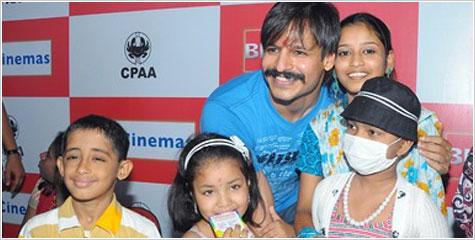 Vrinda, Vivek Oberoi, Children swarm, Sandipani Muni, Underprivileged, vrindavan