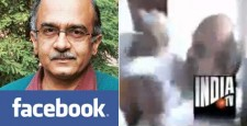 Delhi police, tracking attackers, using Facebook, Bagga, President of Bhagat Singh Kranti Sena, Vishnu Gupta, Prashant Bhushan