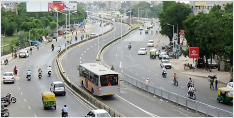 BRTS, Ahmedabad Janmarg Limited, Ahmedabad Municipal Corporation, Guruprasad Mohapatra