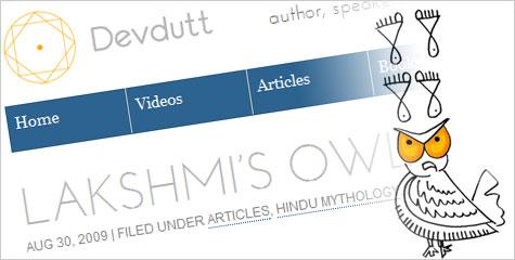 Lakshmi, Alakshmi, Lakshmi's Owl, IBTL