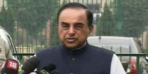 Chidambaram, Dr. Swamy, 2G