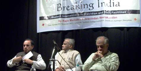 Breaking India, Rajiv Malhotra, Western Interventions, Dravidian And Dalit Faultlines,  Dr. Swamy, IBTL