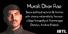 Muralidhar Rao, National Secretary, BJP, Deprived segment of Indian Society, IBTL