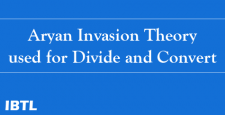 Aryan Invasion Theory, Aryan Dravidian, South Asia, American Journa, Dr Gyaneshwer Chaubey, IBTL