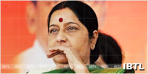 Sushma swaraj over lokpal, Government's Lokpal Bill, Jan Lokpal Bill, anna, IBTL