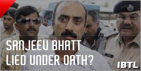 Sanjeev Bhatt, DGP R B Sreekumar, 2002 Riots, DGP K Chakraborthi, Narendra Modi, IBTL