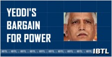 BJP troubles,  Yeddi's bargain for power, Eshwarappa, Yeddiyurappa, IBTL