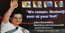 Sonia Gandhi advertisement, Congress, H Vasanthakumar, Tamil Nadu Politics, Political Sycophancy