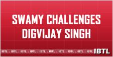 Dr. Swamy challenges Digvijay, Hashimpura Riots, Swamy's fast unto death, IBTL
