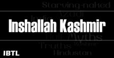 Inshallah Kashmir, kashmiri pandit, KP exile, KPExodus, rahul pandita, aditya raj kaul, IBTL