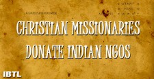 union mome secretary, r k Singh, christian missionaries, church sponsored ngos, chennai, tamil nadu