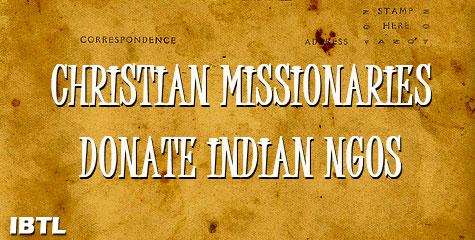 union mome secretary, r k Singh, christian missionaries, church sponsored ngos, chennai, tamil nadu