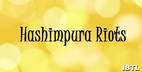 dr swamy, chidambaram, hashimpura riots,