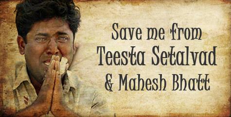 teesta, mahesh bhatt, qutubbuddin ansari, gujarat riots, godhra, pseudo indians,