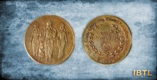 British Era coin, Lord Ram's coin, shree ram, hanuman, Andhra Pradesh, british coins
