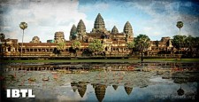 angkor wat , temple replica, bihar, ram,