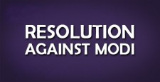 resolution against, modi, Ileana Ros-Lehtinen, seema,