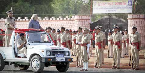 Gujarat's police force, youngest police force in India, indian police force, crime rate in gujarat, Rakshashakti University,