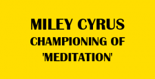 american hindus, American singer-actress Miley Cyrus, championing of meditation, rajan zed, President of Universal Society of Hinduism, Teen idol Golden Globe, Miley Cyrus, Hannah Montana, Forbes 2010 Celebrity, ibtl international
