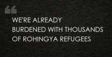 Dhaka, Bangladesh, Rohingya Muslims, Myanmar, Dipu Moni, River Naf, ethnic Muslims, Myanmar Rakhine State, Maj. Shafiqur Rahman, United Nations High Commissioner for Refugees, UNHCR, ibtl