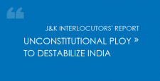 J&K Interlocutors report, Unconstitutional ploy, destabilize India, Sheikh Mohd Abdullah, Comptroller General of India, Indira-Sheikh Accord, Article 370, J&K in 1947/48,  Maharaja Hari Singh, Jammu Pradesh, ibtl