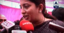 Smriti Irani, Bharatiya Janata Party, United Progressive Alliance, Gujarat, Jammu and Kashmir, news, ibtl, videos