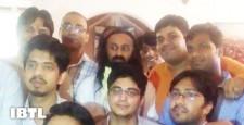IBTL's divine meet, Pujaniya Sri Sri Ravishankar, srsrispeaks, ibtl meet, ibtl bharat samvaad,