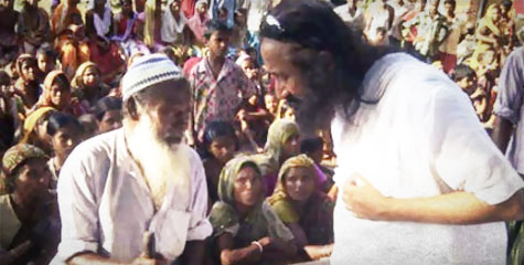 NE Exodus,  Art of Living Ashram, sri sri volunteer, North East Exodus, Art of Living volunteer,
