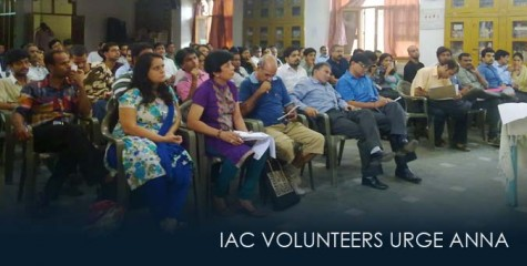 IAC Volunteers, Anna to restart apolitical movement, Janlokpal, Shivendra Singh Chauhan, Sharmistha Sharma, Saurabh Upadhyay,