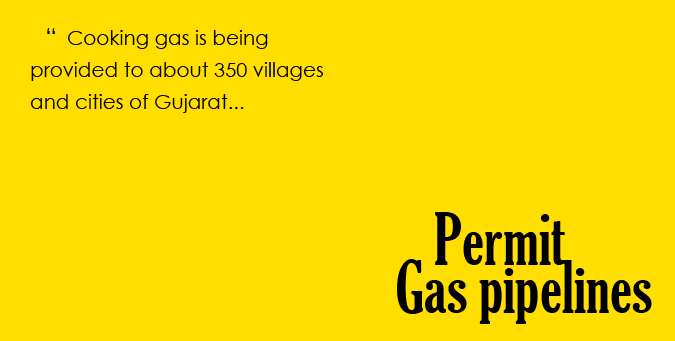 Modi exposes Centre, Gujarat can save cylinders, gas pipeline, Cooking gas, gas distribution pipelines, ibtl