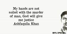 Khoon se khelenge holi, Ashfaqulla Khan, Birth anniversary, Chauri Chaura violence, Hindustan Republican Association,