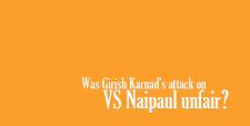 Vidia Naipaul, deep anti-Hindu bias, Nobel Laureate Sir Vidia Naipaul, NDTV debate, Girish Karnad, VS Naipaul unfair, Ezra Pound, fascism, Farook Dhondy, Dalrymple, Babur,  in 1525. Dhondy, barbarism, Deccan sultanate, Vijayanagar,
