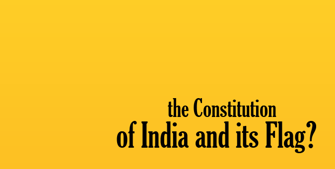 Jammu & Kashmir, Indian Constitution & Flag, J&K two flag theory