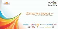 nited We March, A National Youth Summit, UNICEF, UNAIDS, UNMC, UNODC, UNFPA, UNGCN, Child Sex Ratio, Drugs & Alcohol, Corruption, Millennium Development Goals