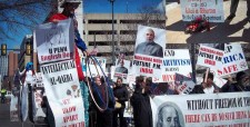 Americans for Free Speech, March 23rd, University of Pennsylvania, Philadelphia, free-speech rights, modi wharton protest