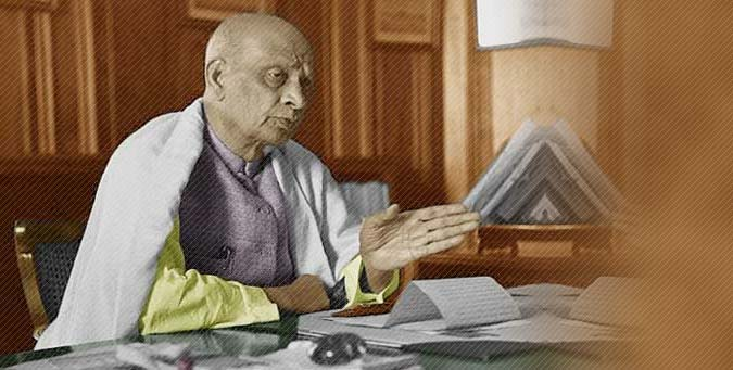RSS, Secular parties of india, tales of Nehru, Sardar Patel, loh purush, statue of unity
