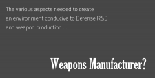 Weapons Manufacturer, DRDO,