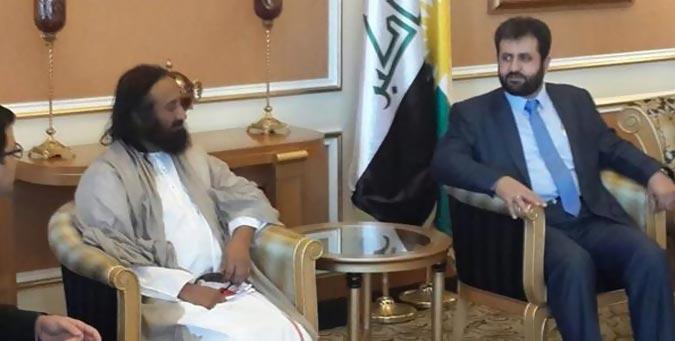 sri sri ravi shankar, ISIS, sri sri iraq visit, yazidi help
