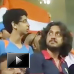 45000 indians singing, india vs sri lanka, vande mataram