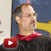Steve Jobs commencement speech, graduates of Stanford University, co-founder of Apple Computer, Pixar Animation Studios, 114th Commencement, June 12, 2005