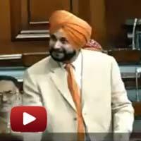 Indian Member of Parliament, Navjot Sidhu, status of Amritsar Sahib, Heritage City Status, siddhu speech, navjot singh siddhu, ibtl