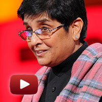 iac, Kiran Bedi, TEDTalks, TED talks, India prison reform, law, education, punishment, crime, jail, TEDWomen, ibtl video of the day, kiran bedi against corruption