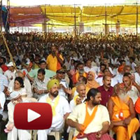 Nirnayak Andolan, Baba Ramdev, Morning Speech, Day 04, ramdev patanjali, gen v k singh, ibtl videos