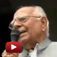 Ram Jethmalani, Ambedkar Stadium, nirnayak andolan, ramlila maidan, baba ramdev, swami ramdev, dr swamy,