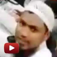Watch live footage, Mumbai muslim protesters, set the OB van on fire, video 11 aug protest azad maidan