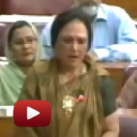 ibtl video of the day, I am ashamed of being a Pakistani, Fozia Ejaz Khan, National Assembly pakistan