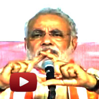 Pradhan mantri, Modi slams Congress, #FDI, Smalltime shopkeepers, fdi retail, walmart, ibtl video