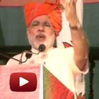 Narendra Modi, Faridabad, National Executive Meet, bjp meet video, modi haryana, beef export india, pink revolution