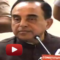 swamy press conference sonia rahul fraud, Herald House fraud, Quami Awaz newspapers, young indian trust, sam pitroda, vohra