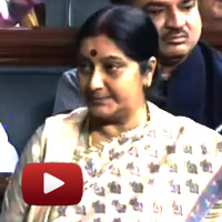 Rule184, FDI in retail, Sushma Swaraj speech, lok sabha, lstv,